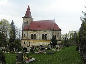 Eduard Albert - Image: Žamberk, hřbitov a kaple svatého Vojtěcha