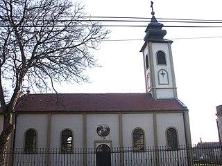 Bingula Village in Vojvodina, Serbia