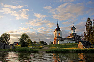 Kenozersky National Park - Sts Peter and Paul Church in the village of Morshchikhinskaya