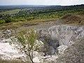 Вид на меловой карьер и юго-восточную часть горы Кременец.jpg
