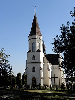 Skalat City in Ternopil Oblast, Ukraine