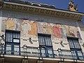 Майолікове панно на будинку художнього музею Чернівці.JPG