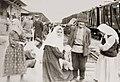 На вокзале. 1957 год Фрунзе. Жители с. Юрт-Аух.jpg