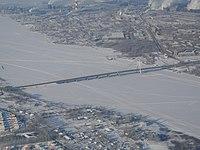 Октябрьский мост в Череповце с птичьего полёта.jpg