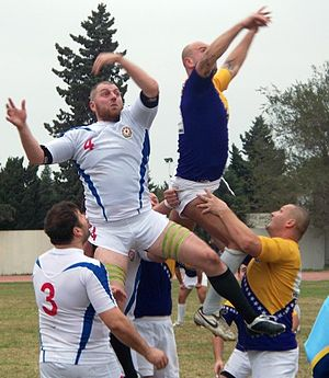 Bosnia and Herzegovina national rugby union team - Image: Регби Азербайджан Босния