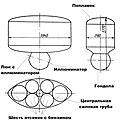 Схема батискафа ФНРС-2 черно-белая.JPG