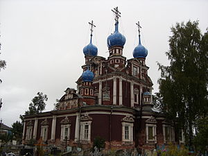 Ustyuzhna - The Church of Our Lady of Kazan (beginning of the 18th century)