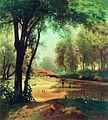 Хаты в лесу тишина 1890.jpg