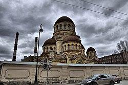 Церковь Божией Матери Милующей, Большой проспект В.О..jpg