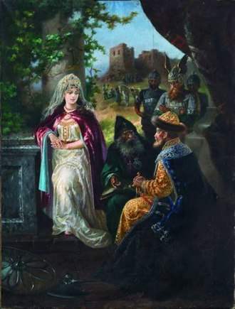 Ingegerd Olofsdotter of Sweden - Image: Ярослав Мудрый и Ингигерд Транковского