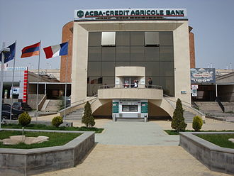Armavir, Armenia - ACBA-Credit Agricole Bank, Armavir branch