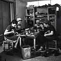 הנשים במאמץ המלחמה - ממלאות את מקומם של המתגייסים בסנדלריה בתל-אביב-JNF021091.jpeg