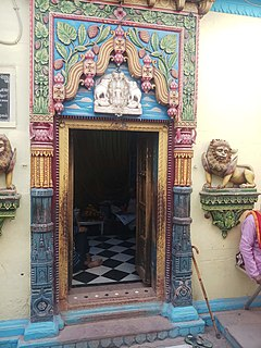 Vishalakshi Temple Hindu goddess temple in Varanasi, India