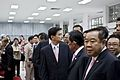 นายกรัฐมนตรี และคณะรัฐมนตรี ลงนามถวายพระพร พระบาทสมเด็ - Flickr - Abhisit Vejjajiva (11).jpg