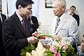 นายกรัฐมนตรี และคณะรัฐมนตรี เข้าอวยพรวันคล้ายวันเกิดพล - Flickr - Abhisit Vejjajiva (1).jpg