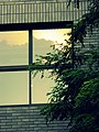 中央美术学院- Sunset reflected on a window in CAFA - panoramio.jpg
