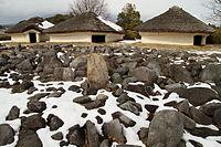 金生遺跡の配石遺構