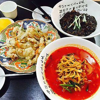 Korean Chinese cuisine - Jajangmyeon, jjamppong, and tangsuyuk (three quintessential Korean Chinese dishes)