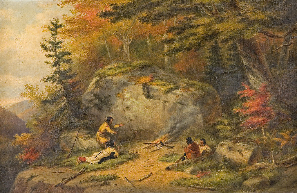 File Autumn In West Canada Chippeway Indians Oil