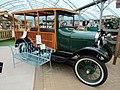 -2019-01-11 Ford model T station wagon (1928), Holt garden centre, Norfolk, England.JPG