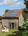 -2020-06-09 Old barn with solar panels, Metton, Norfolk.JPG