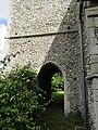 -2020-06-09 Passage way under the Bell tower, Saint Andrew parish Church, Metton, Norfolk (2).JPG