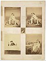 -Album page with ten photographs of La Comtesse mounted recto and verso- MET DT10614.jpg
