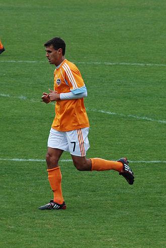 Chris Wondolowski - Wondolowski playing for the Dynamo in 2009