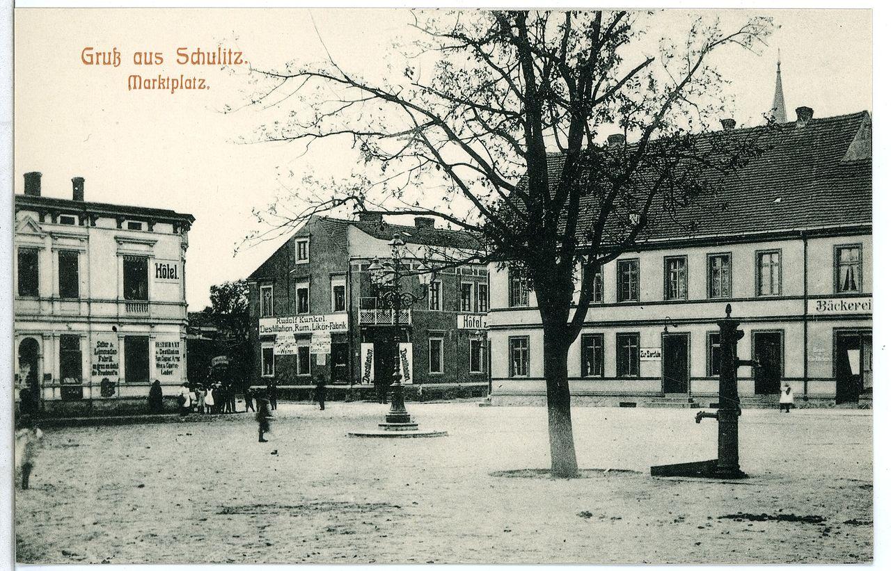 09854-Schulitz-1908-Marktplatz-Brück & Sohn Kunstverlag.jpg