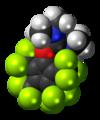 1,1,3,3-tetramethyluronium-O-tetrakis(trifluoromethyl)cyclopentadienylide-3D-spacefill.png
