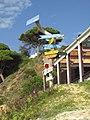 10-12-2016, Sign post, Praia do Barranco das Belharucas, Olhos de Água (1).JPG