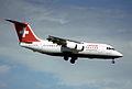 102af - Swissair Express BAe 146-200; G-DEFM@ZRH;09.08.2000 (6328191685).jpg