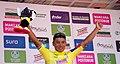 11 Etapa-Vuelta a Colombia 2018-Ciclista Jonathan Caicedo-Lider Clasificacion General.jpg