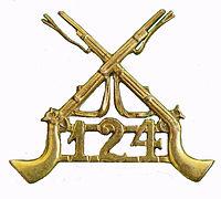 124th Baluchistan Infantry badge