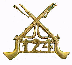124th Duchess of Connaught's Own Baluchistan Infantry - Image: 124th Baluchistan Infantry badge