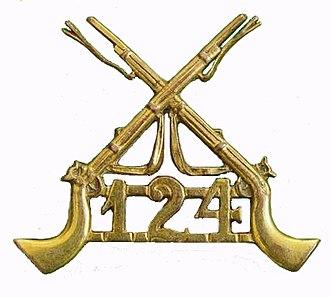 124th Duchess of Connaught's Own Baluchistan Infantry - Image: 124th Baluchistan Infantry badge