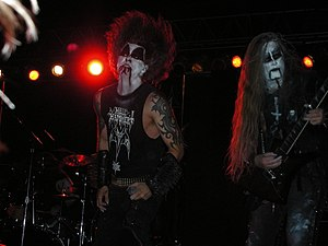 1349 (band) - 1349 performing in the United States in 2006.