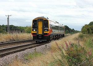 Robin Hood Line - A class 158 on a Nottingham service