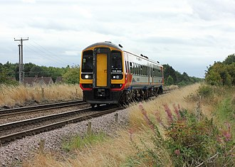 Robin Hood Line - A class 158 on a Nottingham service