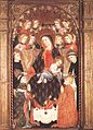 15th-century unknown painters - Virgin and Child with Angels and Saints - WGA24052.jpg