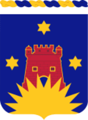 164th Infantry Regiment (United States) - Coat of arms