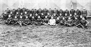 168th Aero Squadron - Pilots of the 168th Aero Squadron at Toul, November, 1918