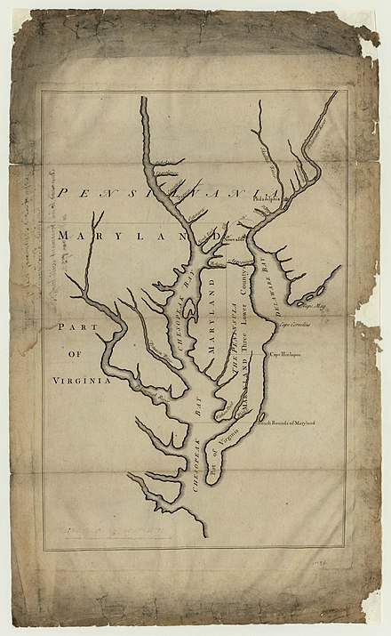 1732 map of Maryland 1732 map of Maryland.jpg