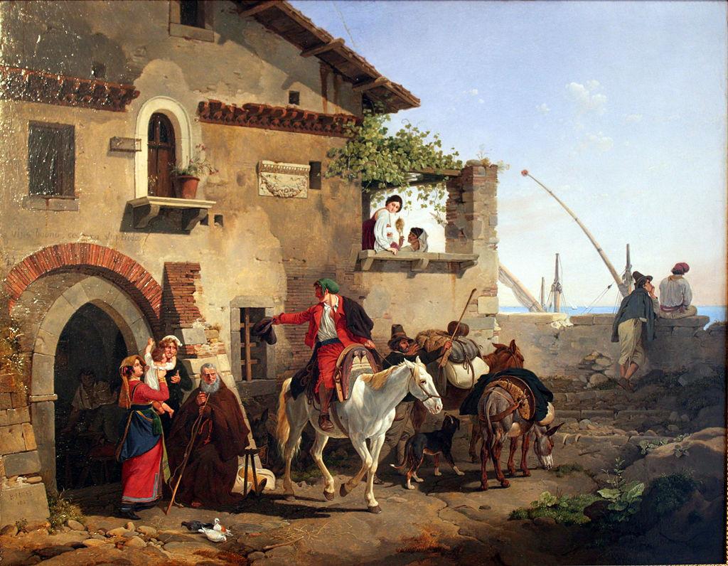 1827 Hess Abschied von der Osteria anagoria.JPG