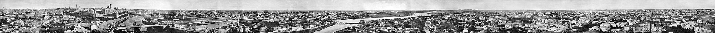 Вид Москвы в 1867 году. Нажмите сюда, чтобы увидеть изображение с примечаниями.