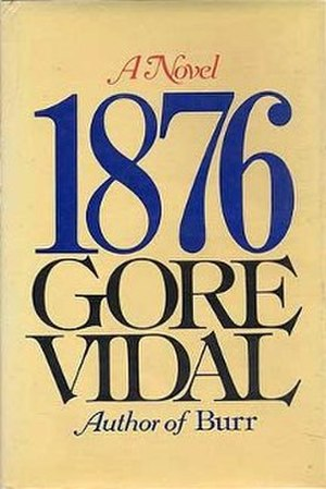 1876 (novel) - Cover of the first edition