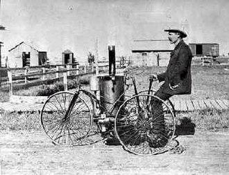 Sanborn County, South Dakota - Image: 1884 Callihan vehicle