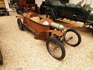 Cyclecar tiny car designs briefly popular in the 1910s–20s
