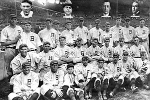 History of the Boston Braves - The team that won their first World Series in 1914