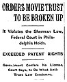 1915 NY Times headline announcing ruling in US v MPPC.jpg